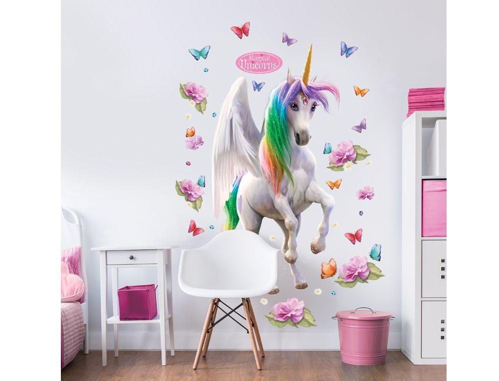 591d437e4f8 Αυτοκόλλητα τοίχου για παιδικό δωμάτιο - MAGICAL UNICORN 27402 ...